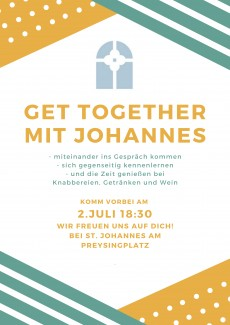 Get together mit Johannes